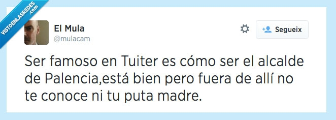 alcalde palencia,conocer,famosos,tuits,tuitstars,twitter