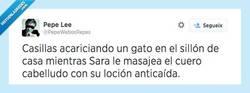 Enlace a Casillas callando bocas, por @PepeWebosRepes