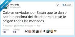 Enlace a Los malditos céntimos siempre se me caen por @PostureoEs