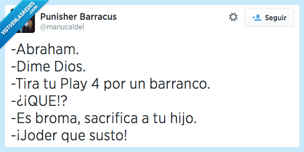 abraham,barranco,dios,hijo,play,play4,playstation,playstation 4,ps 4,ps4,sacrificar,susto