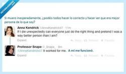 Enlace a Gran profesor, mejor persona por @AnnaKendrick47 y @_Snape_