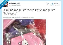 Enlace a Hello Kitty ya está muy vista por @AstarothLeNoir