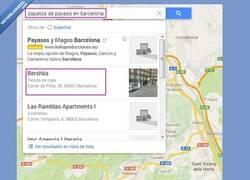 Enlace a Búsqueda en Google Maps, siempre tan acertada