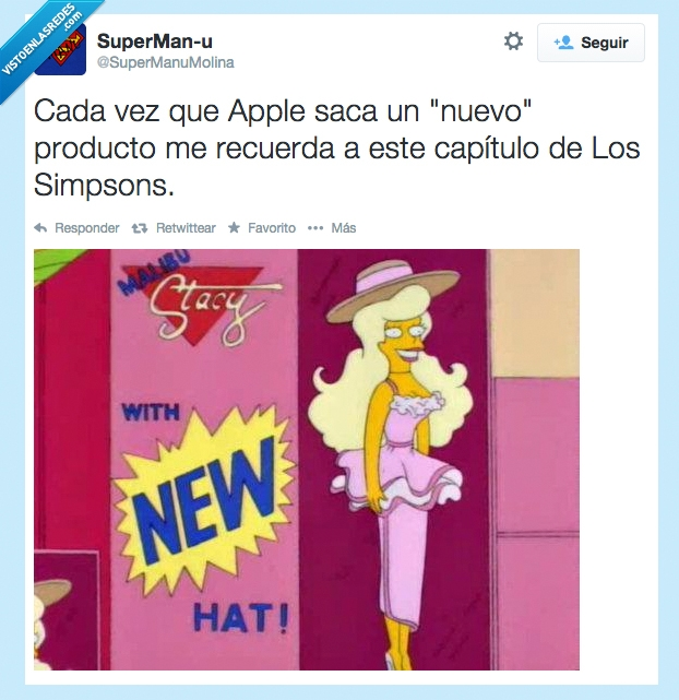 apple,apple watch,iphone 6,los simpson,stacy malibú