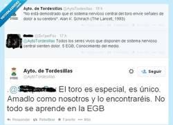Enlace a Al @AytoTordesillas le falta cultura pero le sobran humos