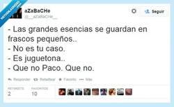 Enlace a No cuela Paco, por @__aZaBaCHe__