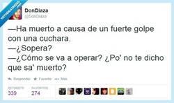 Enlace a ¿Cuándo es el entierro? por @DonDiaza