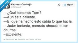 Enlace a Genial Tom, eres el orgullo del cuerpo por @carabajuk