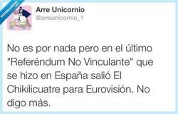 Enlace a Si no es vinculante, no parece buena idea por @arreunicornio_1