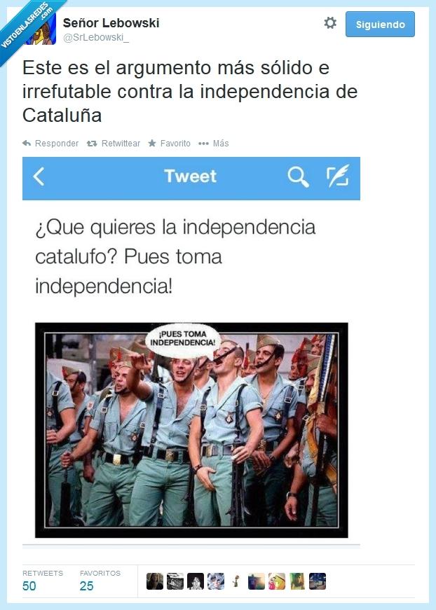 Cataluña,cuenta,España,fascistas,Independencia,intolerantes,listos,Twitter