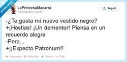 Enlace a ¡¡Expecto Patronum!! por @Macarradecuento