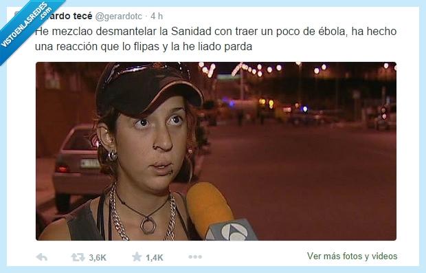 desmantelar,ebola,flipas,liado,liao,liar,mato,parda,sanidad,traer,virus