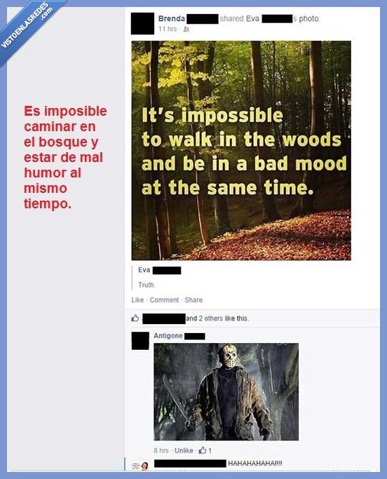 asesino,bosque,jason,matar,oh shit,terror,voy a morir
