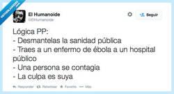 Enlace a Ahora nos quieren convencer de que la culpa es de la pobre enfermera, por @ElHumanoide