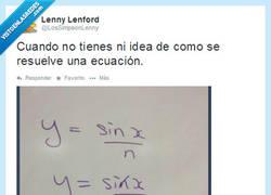 Enlace a Déjame a mí, que soy matemático por @LosSimpsonLenny