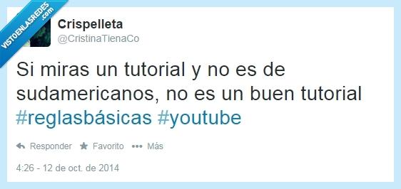 sudamericano,tutoriales,twitter,verdad,youtube