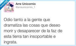 Enlace a No puedo con ese tipo de gente... por @arreunicornio_1