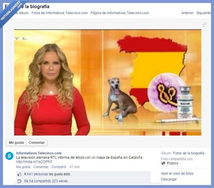 Alemania,Cataluña,ébola,España,mapa,noticias,perro,separado