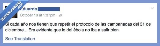 ébola,el cura no nos cura,primero los cuartos,sanidad,vamos a morir todos