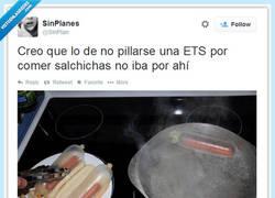 Enlace a El error de contagiarse una ETS comiendo salchichas, por @SinPlan
