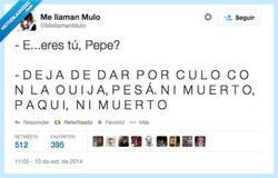 Enlace a Ni muerto me dejan tranquilo, por @MellamanMuIo