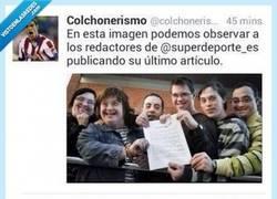 Enlace a Los de @Superdeporte_es responden elegantemente a la página @Colchonerismo