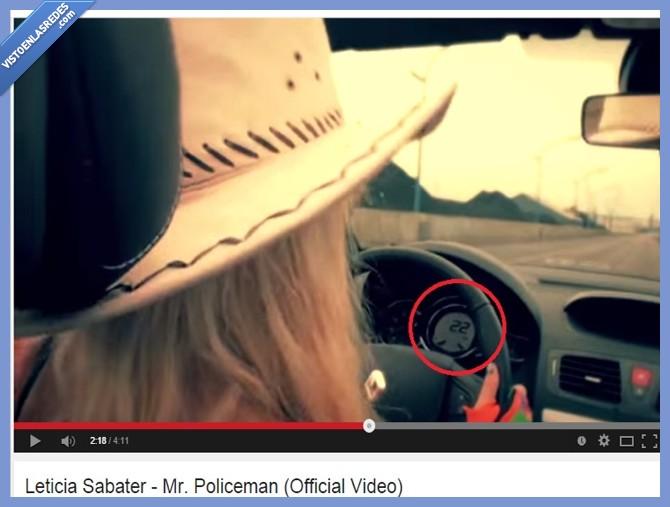 22km/h,coche,Leticia Sabater,Mr. policeman