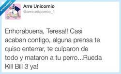 Enlace a La venganza de Teresa por @arreunicornio_1