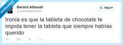 Enlace a La ironía del chocolate por @Juantwothree689