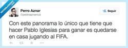 Enlace a Pablo Iglesias no lo tiene difícil, por @pedroaznarruiz