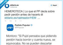 Enlace a Mariano Rajoy pide perdón, la hemeroteca no perdona, por @eldiarioes