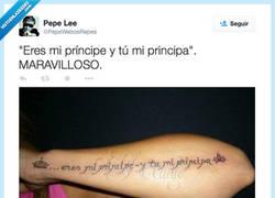 Enlace a Lo suyo es amor, por @PepeWebosRepes