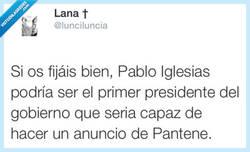 Enlace a Podemos... tener un pelazo por @lunciluncia