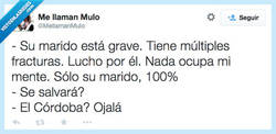 Enlace a Estoy tan preocupado... por @mellamanmulo