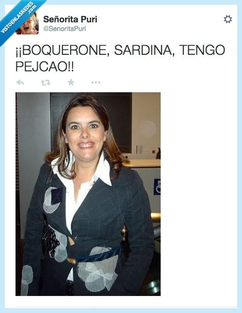 pescadera,PP,sonrisa,Soraya Sáenz,Torrente