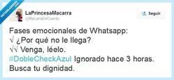 Enlace a Las nuevas fases del Whatsapp por @Macarradecuento