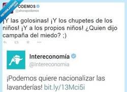 Enlace a Y nos queda un año de esto de @Intereconomia y su acoso a @ahorapodemos