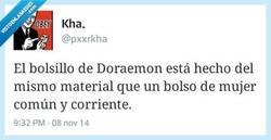 Enlace a El bolsillo de Doraemon por @pxxrkha