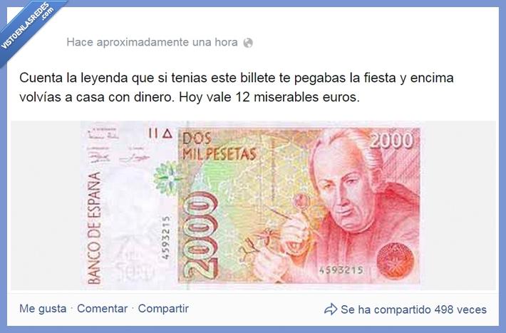 billete,dinero,euro,fiesta,leyenda,pesetas