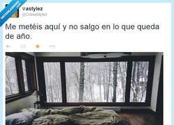Enlace a Yo tampoco saldría, la verdad por @CrisvaStylez