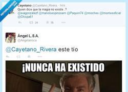 Enlace a Dile eso al Tío Vernon, @Cayetano_Rivera por @Angelarroca