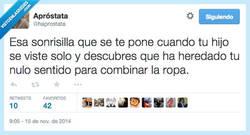 Enlace a De tal palo, tal astilla por @haprostata