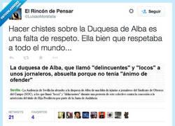 Enlace a La Duquesa y sus opiniones por @LuisaoMoratalla