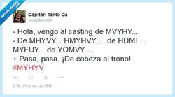 Enlace a Vengo al casting de Yomvi por @capitantoda