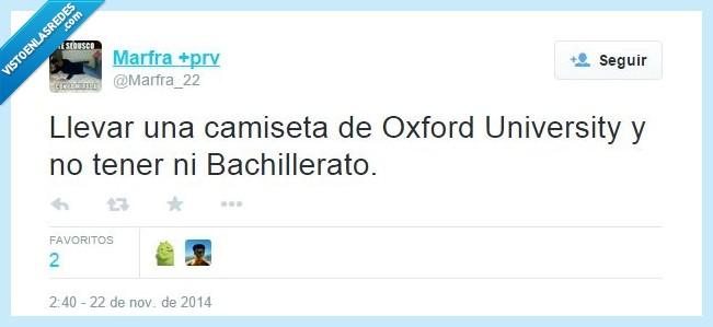 Bachillerato,Oxford,sudadera,Universidad,University