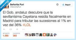 Enlace a Sí, sí, embajadora de Andalucía... Andaluza ejemplar, vamos... por @senoritapuri