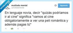Enlace a Lenguaje novia-español por @mutiladomental