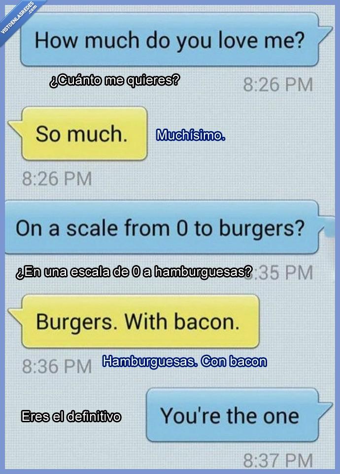 amor,bacon,burguer,definitivo,enamorada,hamburguesa,novia,novio