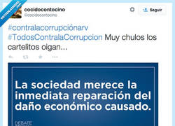 Enlace a Resumen del debate sobre corrupción por @cocidocontocino