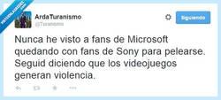 Enlace a Sigan diciendo que los videojuegos generan violencia por @Turanismo
